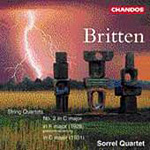 Britten: String Quartets (CD)