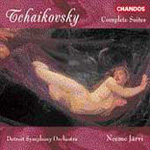 Tchaikovsky: Suites (CD)