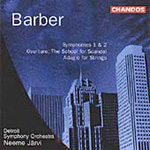 Barber: Orchestral Works (CD)