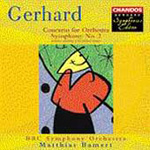 Gerhard: Symphony No 2; Concerto for Orchestra (CD)