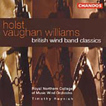 Holst/Vaughan Williams: British Wind Band Classics (CD)