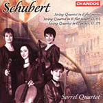 Schubert: String Quartets (CD)