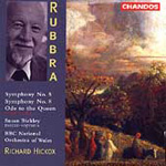 Rubbra: Symphonies Nos 5 & 8; Ode to the Queen (CD)