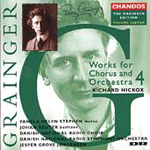Grainger: Choral Works, Volume 4 (CD)