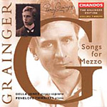 Grainger Edition, Vol 12 -Songs for Soprano (CD)