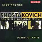 Shostakovich: Complete String Quartets , Vol 1 (CD)