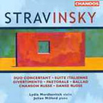 Stravinsky: Works for Violin & Piano (CD)