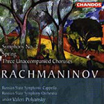Rachmaninov: Symphony 3 etc (CD)