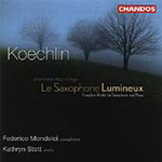 Koechlin: Saxophone Luminuex Le (CD)