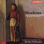 Brahms: Choral Works (CD)