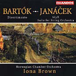 Bartók/Janácek - Works for String Orchestra (CD)