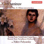 Grechaninov: Symphony No.5; Missa oecumenica, Op.142 (CD)