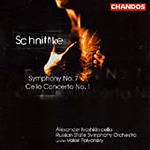 Schnittke: Symphony 7 & Cello Concerto 1 (CD)