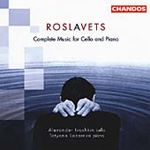 Roslavets: Cello Sonatas. Piano Works (CD)