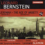Bernstein: Symphonies No. 1, 'Jeremiah'; No. 2 'The Age of Anxiety' (CD)