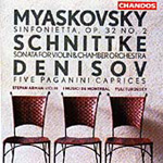 Denisov/Miaskovsky/Schnittke: Works for Strings (CD)