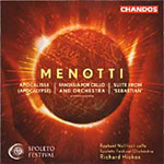 Menotti: Orchestral Works (CD)