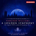 Produktbilde for Vaughan Williams: A London Symphony (original version) (CD)