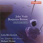 Britten/Veale: Concertos for Violin and Orchestra (CD)