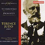 Prokofiev/Tchaikovsky: Concertos for Piano and Orchestra (CD)