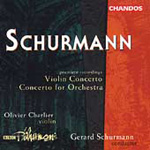 Schurmann: Violin Concerto; Concertos for Orchestra (CD)