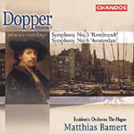 Dopper: Symphonies Nos 3 & 6. (CD)