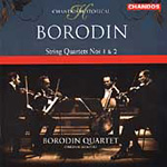 Borodin: String Quartets Nos 1 and 2 (CD)