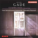 Gade: Symphonies, Vol 4 (CD)