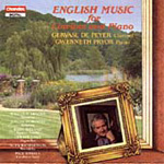 English Music for Clarinet and Piano (CD)