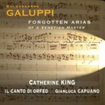 Galuppi: Forgotten Arias Of A Venetian Master (CD)