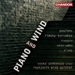 French And Russian Music For Piano And Winds (CD)