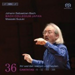 Bach: Cantatas, Vol 36 [SACD] (CD)