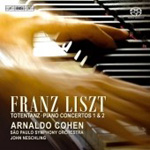 Liszt: Totentanz; Piano Concertos Nos 1 & 2 (CD)
