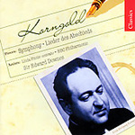 Korngold: Abschiedslieder; Symphony in F sharp minor (CD)