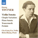 Tintner: Chamber Music (CD)