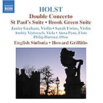 Holst: Double Concerto; St Paul's Suite; Brook Green Suite (CD)