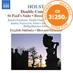 Produktbilde for Holst: Double Concerto; St Paul's Suite; Brook Green Suite (CD)