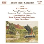 Gardner: Piano Concerto No 1 (CD)