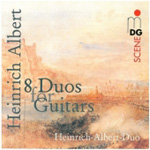 Albert, H: 8 Guitar Duos (CD)