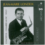Portrait of Jean-Marie Londeix (CD)