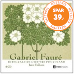Produktbilde for Fauré: Complete Piano Works (4CD)