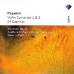 Paganini: Violin Concertos 1 & 2; 24 Caprices (2CD)