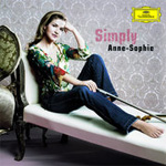 Anne-Sophie Mutter - Simply Anne-Sophie (CD)