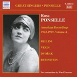 Rosa Ponselle - American Recordings 1923-29, Vol 4 (CD)