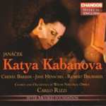 Produktbilde for Janácek: Katya Kabanova (2CD)