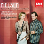 Produktbilde for Nielsen: Flute and Clarinet Concertos; Wind Quintet (CD)