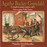 Grøndahl: Complete Piano Music Vol. 1: Norwegian Folk Tunes (CD)