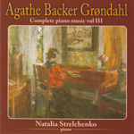 Grøndahl: Complete Piano Music Vol. 3 (CD)