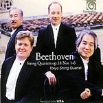 Beethoven: String Quartets Op 18 Nos 1-6 (2CD)