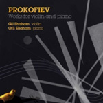 Prokofiev: Works for Violin and Piano (CD)